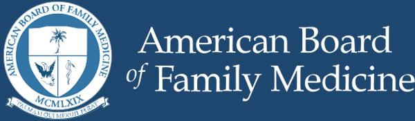 The American Board of Family Medicine Logo